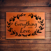 Mini Name Plaque 2270 - Season Everything With Love