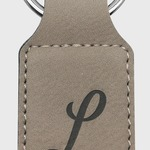 Leatherette Key Ring - Corporate