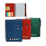 Notebook With Post It Pad And Pen