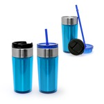 Dual Use Stainless Steel Tumbler