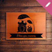Mini Name Plaque 2047 - Mother's Day Plaque
