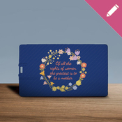 Of all the rights of women - Floral Wreath - USB Card 8GB 2