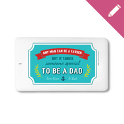 Any Man Can Be A Father - Traveller Power Card (Landscape) - 4000 mAh