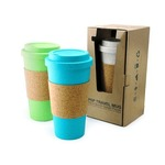 PSP Hot Beverage Travel Mug With Cork Sleeve