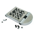 Metal 4 In 1 Game Set (Silver)
