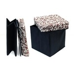 Foldable Storage Box with Stool