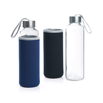 Pietro Glass Bottle With Neoprene Pouch