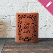 Cup Pen Holder 1585 - Love Never Fails