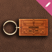Keyring 2051 - The Hodging Family Design 02